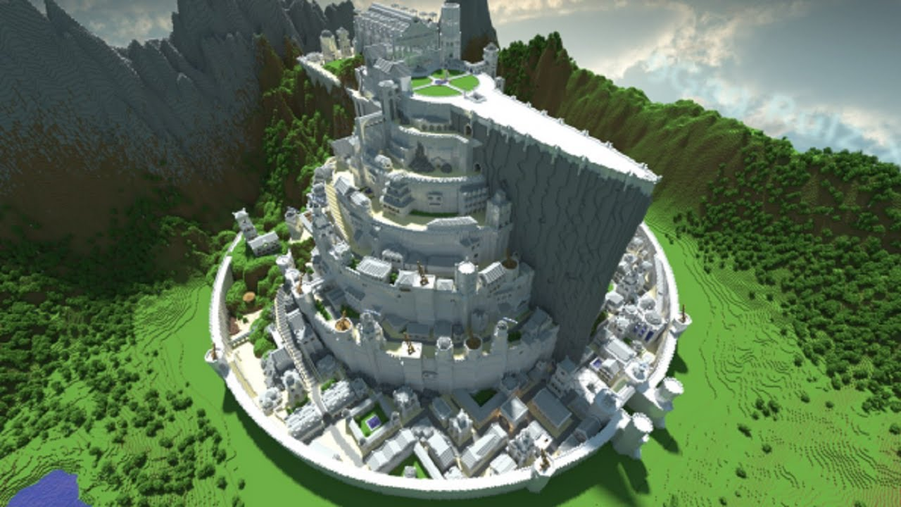 Minecraft minas tirith map presentation and download youtube minecraft minas tirith map presentation and download gumiabroncs Choice Image