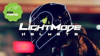 LightMode - Electroluminescent Motorcycle Helmet Kits | Kickstarter Video