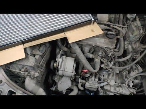 Замена радиатора Passat B3