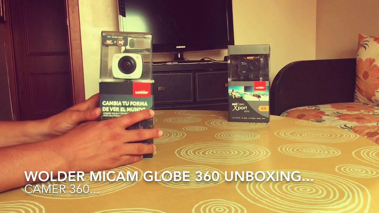 miCam Globe 360 Wolder Unboxing