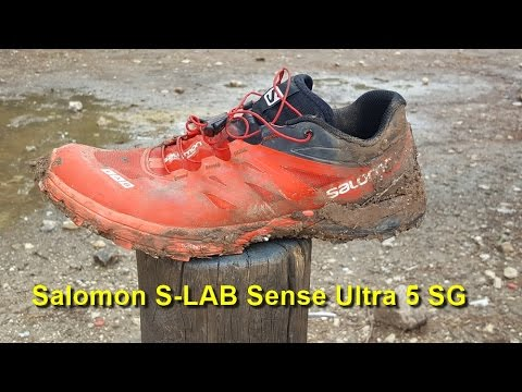 13a40235b13b Salomon S-LAB Sense Ultra 5 SG - YouTube