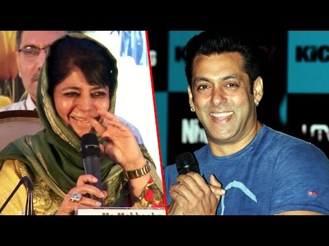 J&K CM Mehbooba Mufti Wants Salman Khan To Promote Kashmir tourism