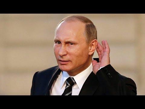 Vladimir Putin Speaks English (Compilation)