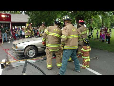 Mifflinburg Hose Company Vehicle Extraction Demonstration