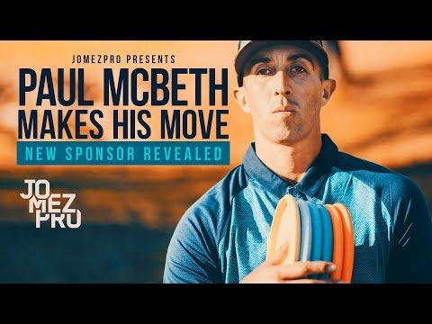 Paul McBeth Makes His Move New Sponsor Revealed