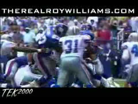 Roy Williams Hard Hits and Highlights- Dallas Cowboys