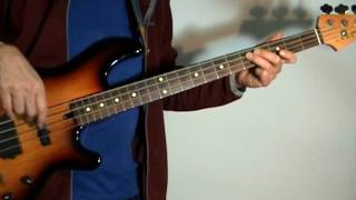 The Moody Blues - Ride My See Saw - Bass Cover