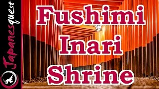 Fushimi Inari Shrine in Kyoto Tour! | Video Japan Guide(Fushimi Inari Shrine is the head shrine of Inari, and is famous for thousands of red Torii gates. The shrine is located in the Fushimi ward in Kyoto. More Details: ..., 2014-09-02T12:19:07.000Z)