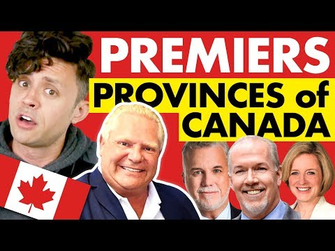 Premiers of Canada's 10 Provinces