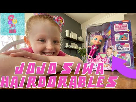 Doll New in Box Hairdorables JoJo Siwa Limited Edition D.R.E.A.M
