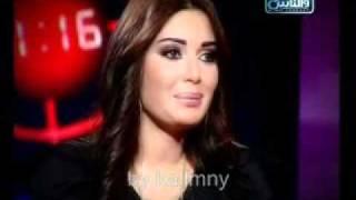 سرين عبد النور تتحدث عن هيفاء وهبى فى بلسان معارضيك  .wmv