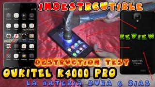 OUKITEL K4000 Pro | Smartphone INDESTRUCTIBLE BATERÍA ETERNA  | Review EN Español