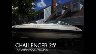 Used 2006 Challenger 25 Cabin Cruiser For Sale In Mechanicsville, Virginia