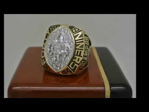 San Francisco 49ers 1989 NFL Super Bowl XXIV Championship Ring