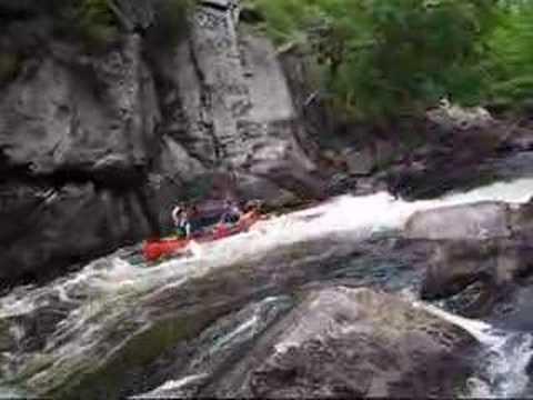 Magnetawan Whitewater Canoe Trip - YouTube