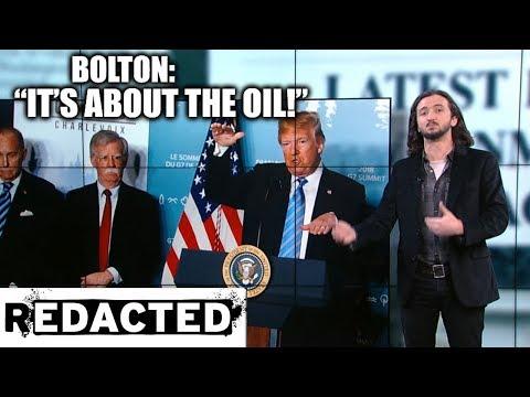 ~231~ Trump Admin. Admits They Want Venezuela's Oil, Plus Troops In Iraq