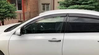 Автодоводчик стекол на Nissan Teana J32
