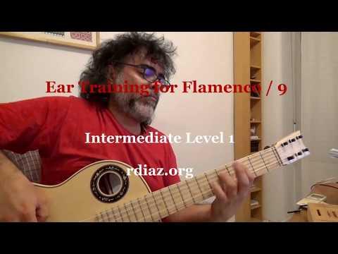 Ear training (9 Melodic minor scale) in modern flamenco /Learn Paco de Lucia´s Style/Ruben Diaz