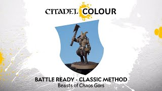 How to Paint: Battle Ready Beasts of Chaos Gors – Classic Method