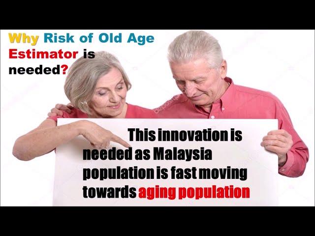 SSA032 : RISK OF OLD AGE DIAGNOSTIC KIT