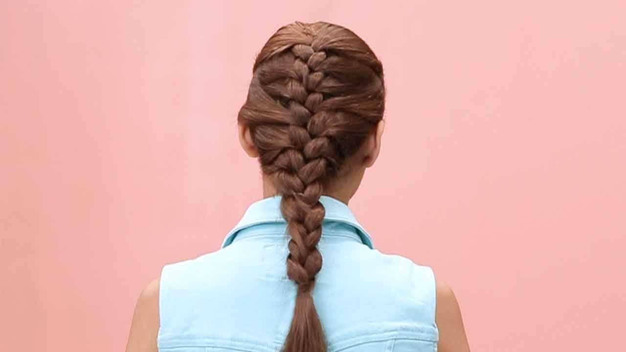 How To French Braid Step By Step Tutorial Youtube