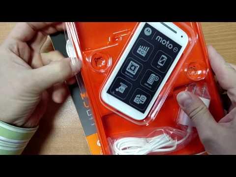 Видео-обзор Motorola Moto E 2nd gen. XT1526 белого цвета