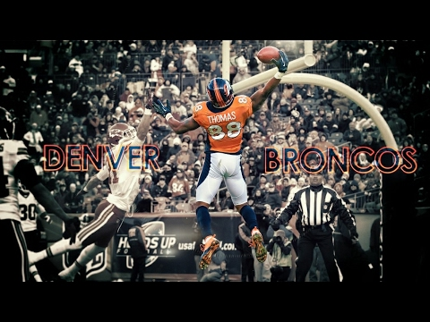 Demaryius Thomas || Unstoppable || Highlights 2016-17