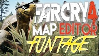 far cry 4 map editor funtage 3 fc4 funny moments 10 min special