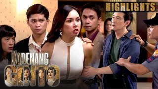Upon learning of Leon's (Richard Yap) relation with Hector (Joko Diaz), Romina (Beauty Gonzalez) goes ballistic and confronts the accused man. (With English ...