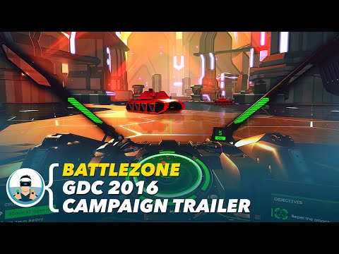 Battlezone - GDC 2016 Campaign Trailer | PlayStation VR