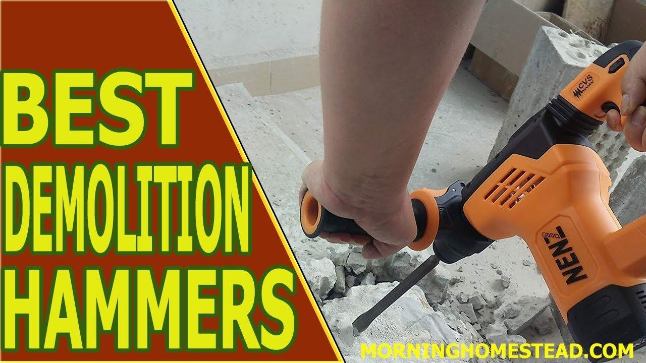 Top Best Demolition Hammers For Tile RemovalDigging YouTube - Best demolition hammer for tile removal