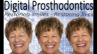 Digital Smile Design, Digital Implants and Digital Dentures Combined