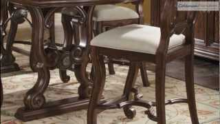 Coronado Counter Height Trestle Dining Room Collection From Art Furniture