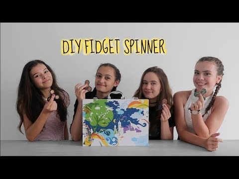 DIY Fidget spinner  || 4LIFE