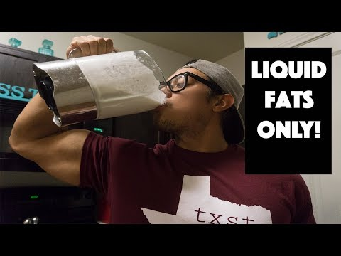 Full Day of Liquid Fats ONLY! Should you do it?