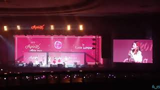 Apink's Hayoung Sings SNSD's Into The New World & Lil' Touch + Fans singing along.