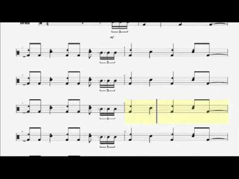 [Overview] Drum Notation