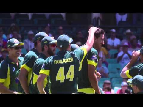 Australia Vs England, Carlton-Mid Tri-series, 1st ODI