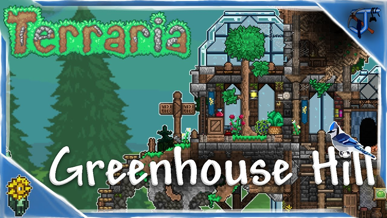 Greenhouse Hill | Terraria Speed Build #1