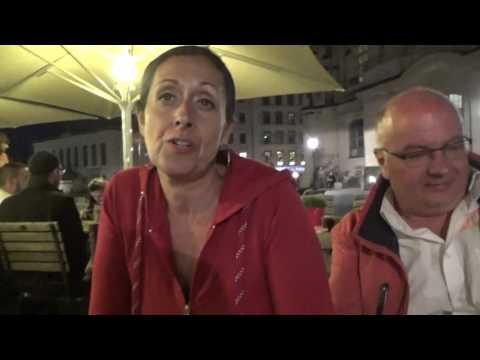 Dresden 2016, Anja Heussmann lebt nahe Dubai und ist Friedensengagement für Deutschland