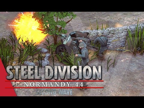 Breakthrough Defence! Steel Division: Normandy 44 Gameplay (Colombelles, Breakthrough AI)