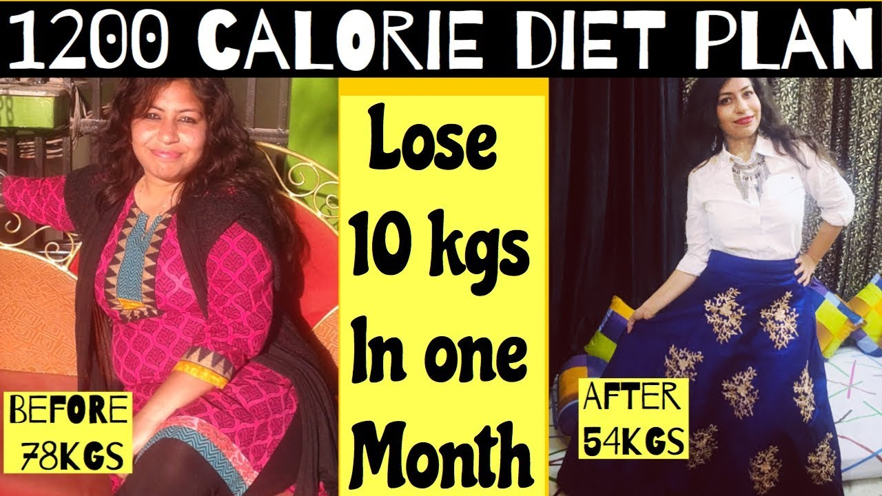 1200 calorie diet for 1 month