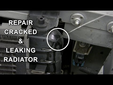 Repair Cracked Plastic Radiator