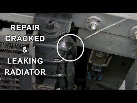 Repair Cracked Plastic Radiator
