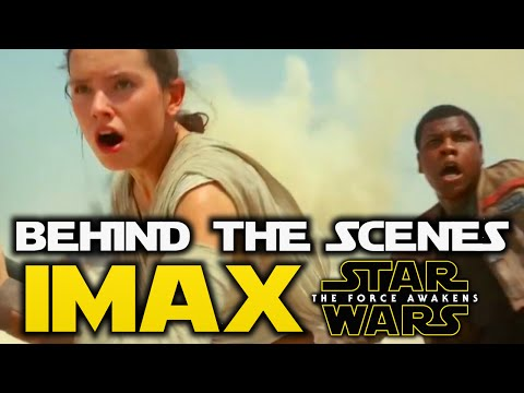 Star Wars The Force Awakens - IMAX Behind The Scenes! - With JJ Abrams!