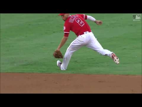 Andrelton Simmons Defensive Highlights 2017 (LAA)