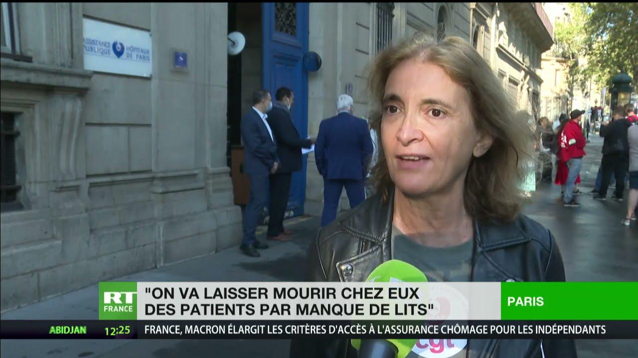 Download Paris : des soignants mobilisés contre la suspension du personnel refusant la vaccination