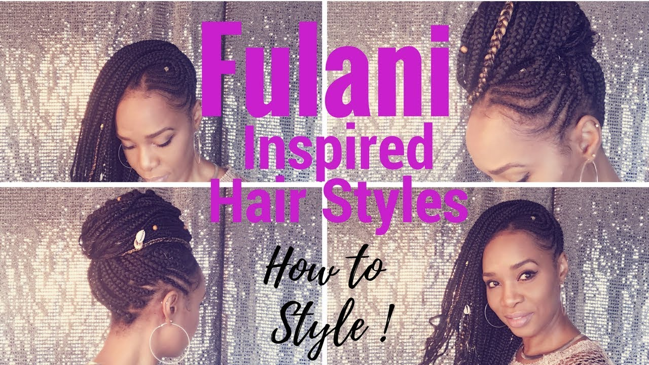Fulani Inspired Braids Amp Beads Hair Styles Protective