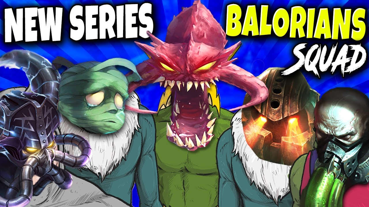 Me and the Bois chilling and destroying ALL 🔥 Balorians Squad Series is here to make things UNFAIR 🔥