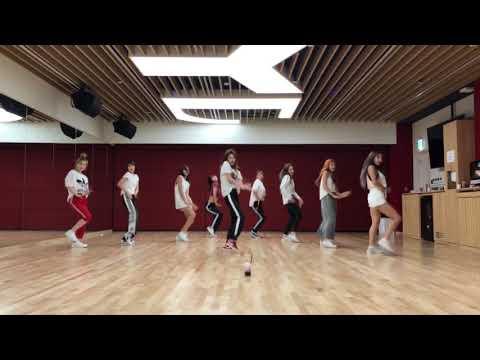 TWICE - Dance the Night Away [DANCE PRACTICE + MIRRORED + SLOW 100%]